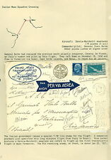 ITALY, 1930, Balbo Mass Flight to Rio signed by all 18 pilots and franked w/C27