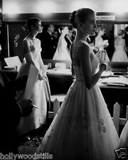 Grace Kelly and Audrey Hepburn candid backstage at the Oscars 8x10 rare photo