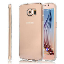 For Samsung Galaxy S6 Slim Case Silicone Bumper Gel Soft Cover TPU Rubber Skin