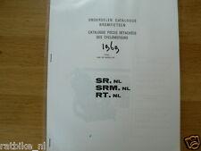 P0112 PEUGEOT---ONDERDELEN---SR (NL) + SRM (NL) + RT (NL)-MODEL 1969