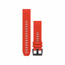 Cinturino ricambio QuickFit 22 Rosso per GARMIN fenix 5 e forerunner 935