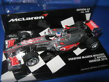 1:43 McLaren Mercedes sc2010 J. Button 530104371 L.E. Minichamps Ovp New