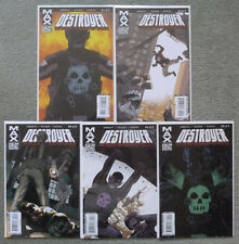 DESTROYER #1-5 SET..ROBERT KIRKMAN/CORY WALKER..MARVEL MAX 2009 1ST PRINT..VFN+