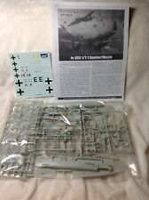 AMTECH ERTL Ju-88 S-1 T-1 Bomber Recon Bagged 1/72 Scale Aircraft Model Kit