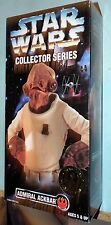 "STAR WARS 12"" INCH REBEL LEADER ADMIRAL ACKBAR COLLECTOR SERIES FIGURE MISB"
