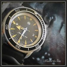 Seiko SKX Diver Analog Mechanical Automatic Seamaster 300 Spectre Watch Mod