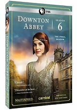 Downton Abbey: The Complete Sixth Season 6 (DVD, 2016) 3-Disk Set New