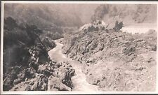 VINTAGE PHOTOGRAPH 1920'S TOKYO JAPAN RIVER GORGE TUNNEL MOUNTAINS OLD PHOTO