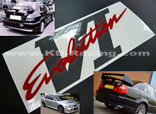 Evo 6 VI Rear Boot Stickers Decals Ralliart Lancer Evolution FREE SHIPPING x 1