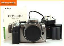 Canon EOS 300D Silver Digital SLR Camera Body & Battery Charger  Free UK Post