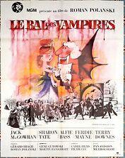 1970's R THE FEARLESS VAMPIRE KILLERS Polanski HORROR French 47x63 movie poster