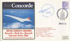 CONCORDE VOL CHARTER SUPERSONIQUE DU 28 Aout 1982
