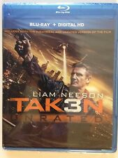 NEW/SEALED - Taken 3 (Blu-ray Disc, 2015, Includes Digital Copy)