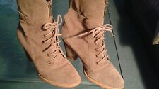 KENNETH COLE WOMEN'S SUEDE HALF BOOTS SIZE 10M