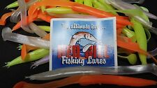 RED GILL THRESHER LURE MIXED COLOURS  210mm x 50 PACK
