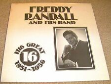 FREDDY RANDALL BAND - HIS GREAT 16 (1951-1956) - 1986 Dormouse DM5 (England)