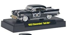 M2 MACHINES 1:64 SCALE CHEVROLET 100TH ANNIVERSARY BLACK 1957 CHEVROLET BELAIR