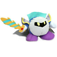 "Nintendo Sanei USA Kirby soft toy 8"" Plush Metaknight Meta Knight NWT"