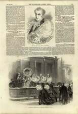 1848 Consecration Of Bishop Of Manchester Whitehall Chapel Dr Lee