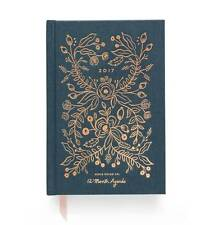 Rifle Paper Co. - 2017 Midnight - 12 Month Agenda / Planner - Bound - LAST 4