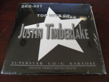 SUPERSTAR KARAOKE CD+G SKG 951 JUSTIN TIMBERLAKE 12 TRACKS