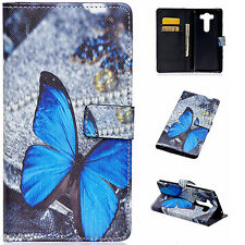 Premium Leather Wallet Case with Card Slots Flip Stand Cover For LG Phone