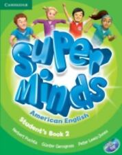 Super Minds American English Level 2 Student's Book with DVD-ROM, , Very Good co