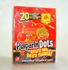 De La Rosa PULPARINDOTS Extra Picante CHEWY CANDY 20 IND. BAGS** Free Shipping