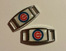 Set of 2 Chicago Cubs CUBBIES MLB  Shoelace Charms For Paracord Projects