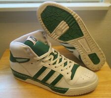 RARE 2008 Adidas Rivalry Hi Boston Celtics NBA Men's Basketball Shoes size 13