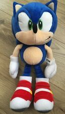 Sonic The Hedgehog Peluche Raro Zapatos de jabón 10th aniversario oficial Coleccionable