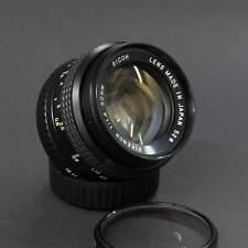 RICOH XR RIKENON 1:1 .4 50mm con Pentax-Mount