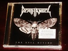 Death Angel: The Evil Divide CD 2016 Nuclear Blast Records USA NB 3498-2 NEW