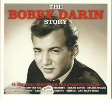 THE BOBBY DARIN STORY - 3 CD BOX SET - 75 ORIGINAL GEMS FROM THE ATLANTIC VAULTS