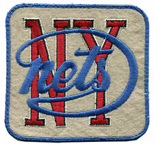 "1968-75 NEW YORK NETS ABA BASKETBALL HARDWOOD CLASSICS 3.75"" TEAM LOGO PATCH"