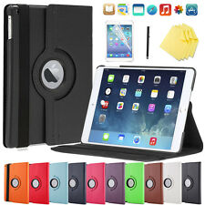 360° iPad Mini 1/2/3 Retina étui de protection+ film Smart Housse Coque 10
