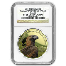 2012 Niue Gold $100 Tasmanian Wedge-Tailed Eagle PF-68 NGC - SKU #96712