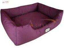 "Aeromark Medium Dog Bed in Burgundy D01FJH-M , 34""L x 27.5""W x 10""H New"