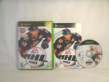 NHL 2003  - XBOX - complete