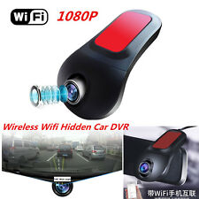 Wireless HD 1080P 140°Wide Angle Car Hidden Camera DVR Video Recorder Tachograph