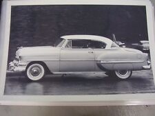 1954 CHEVROLET BEL AIR   2DR HARDTOP 12 X 18  LARGE PICTURE   PHOTO
