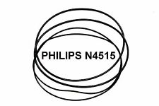 COURROIES SET PHILIPS N4515 MAGNETOPHONE A BANDE EXTRA FORT NEUF FABRIQUE N 4515