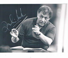 Zubin Mehta Indian Parsi Conductor Hand Signed  Photograph  6x4  Music