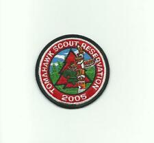 SCOUT BSA 2005 TOMAHAWK RESERVATION CAMP PATCH TOTEM POLE INDIANHEAD COUNCIL MN