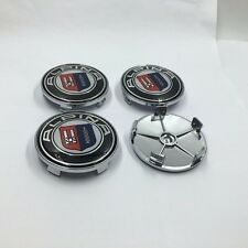 4pcs 68mm Aluminum Wheel Center Cap Cover Hub Cap Alpina E34 E36 E46 E53 E70 E90