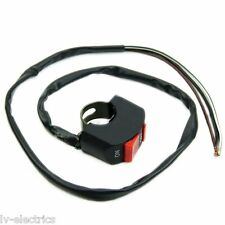 FOR A MOTORCYCLE DIRT PIT BIKE ON/OFF KILL STOP START BUTTON SWITCH HONDA CABLE