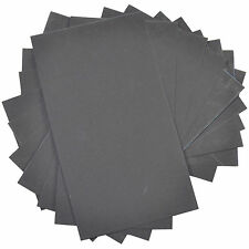 """10x HQRP 3"""" x 5 1/2"""" Wet and Dry Sandpaper 1200 Grit Waterproof Silicone Carbide"""