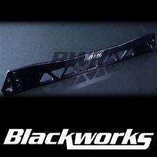 Blackworks BWR Billet Rear Subframe Brace - BLACK (92-95 Civic / Del Sol) EG