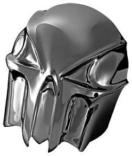Kuryakyn - 7741 - Skull Horn Cover, Painted Black Chrome 49-4625 2107-0047 7741