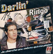 """45 TOURS / 7"""" SINGLE--RINGO--DARLIN' / JE CHERCHE UNE MOME QUI ME PLAISE--1978"""